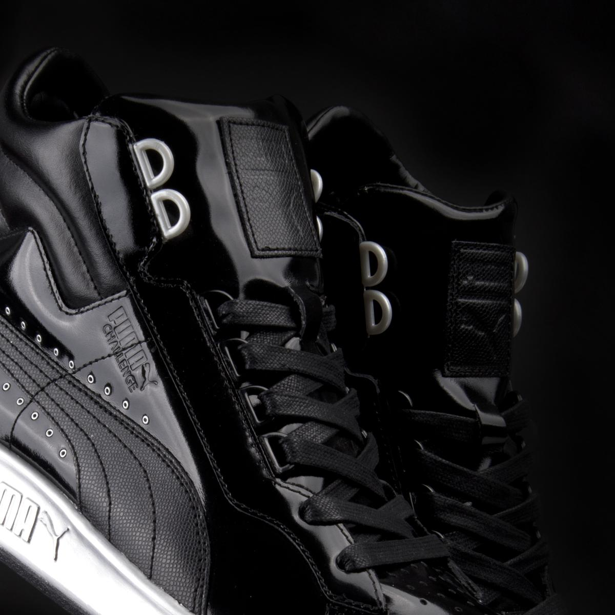 The PUMA x Meek Mill Patent Basket drops Saturday 3 21 and the Patent  Challenge drops in April. Both will be available at The PUMA Lab Powered by  Foot ... 0757d97ba