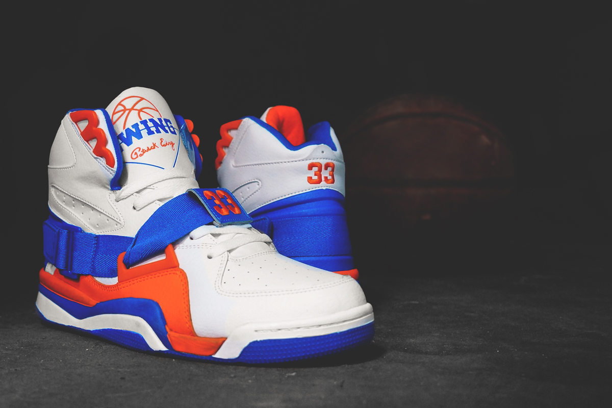 check out a98c7 7de05 ... Ewing Athletics Concept Knicks White Royal Orange