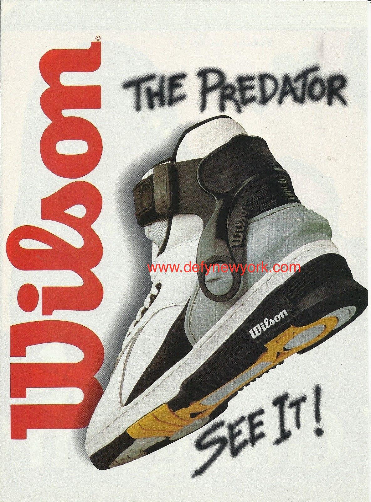 6317b5e5006e These Wilson Basketball Shoes Are WOW. The Wilson Predator ...
