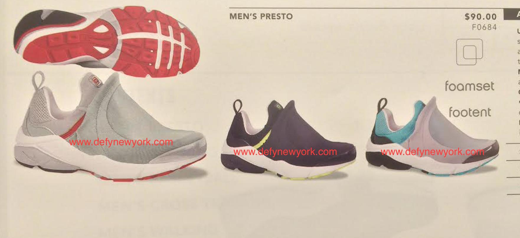 Nike Air Presto Footent 2002 : New York Sneakers,Music,Fashion
