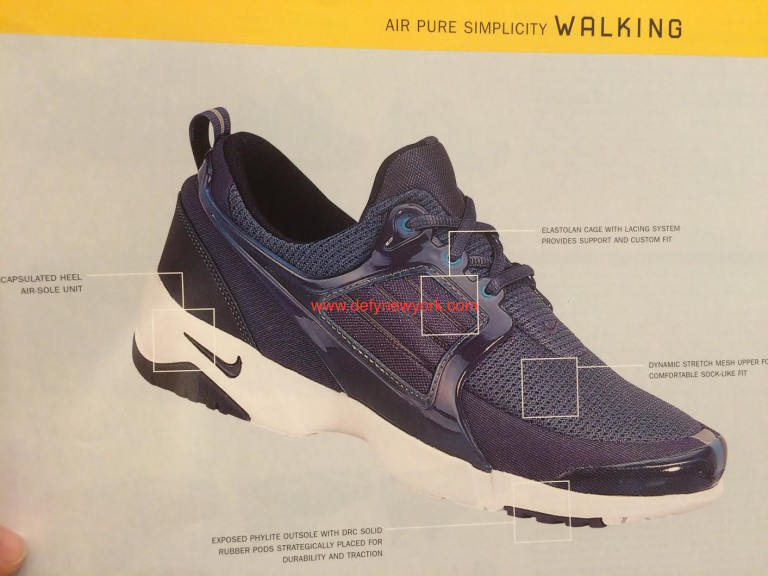 huge discount 1f526 8b1d1 The Presto Goes For A Walk  Nike Air Pure Simplicity Walking Shoe – DeFY.  New York-Sneakers,Music,Fashion,Life.