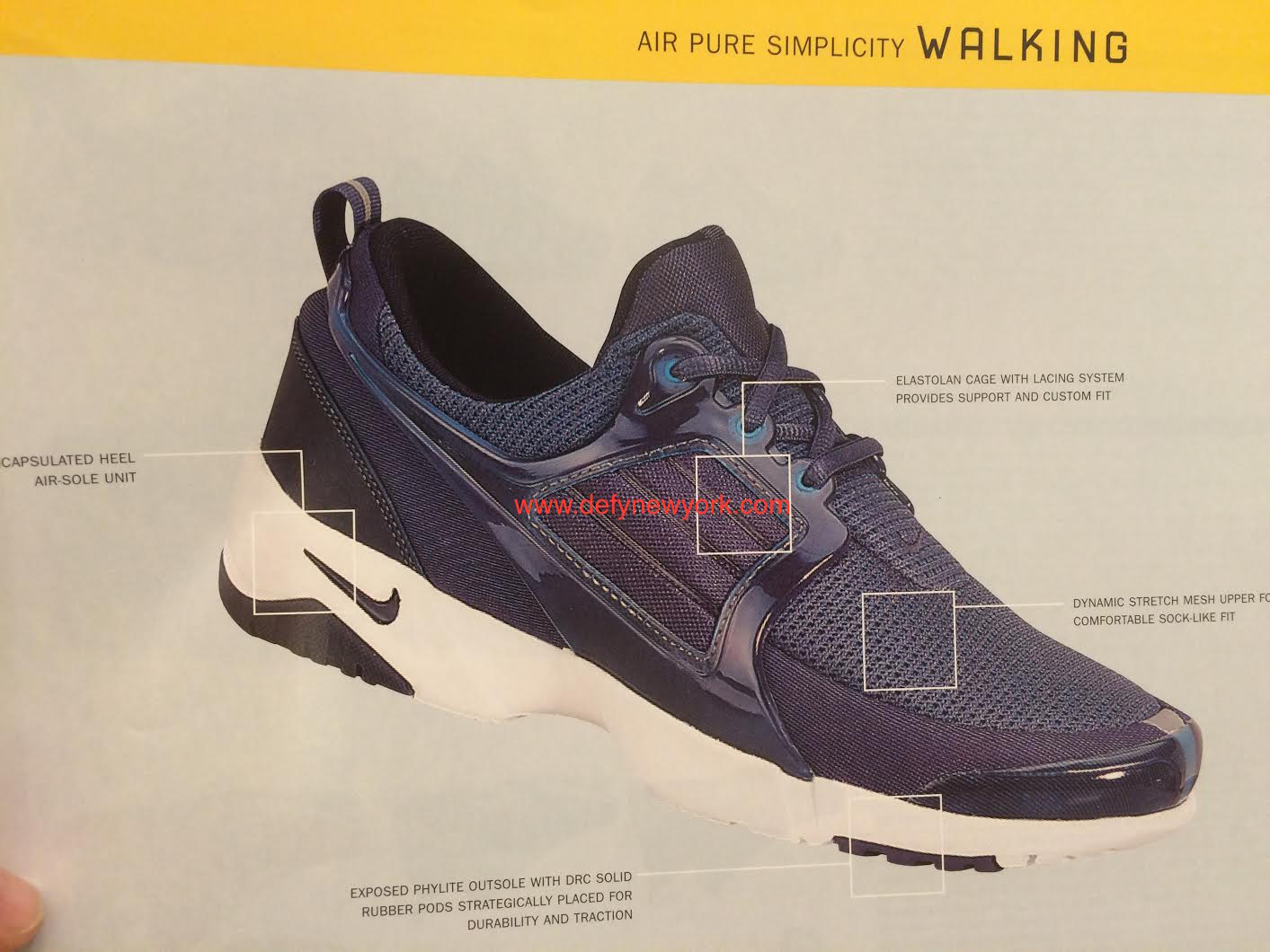 The Presto Goes For A Walk: Nike Air Pure Simplicity Walking Chaussure