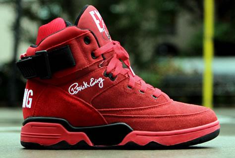 """Ewing-Athletics-Ewing-33-Hi-""""Red-Suede"""""""
