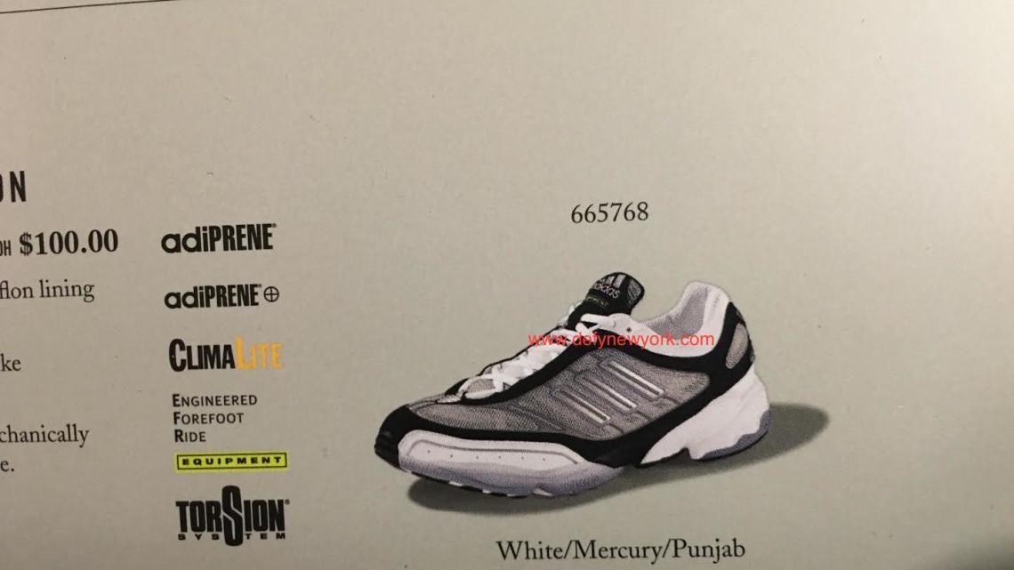 adidas attrezzature gazzella scarpa da corsa, 2000: a new york.