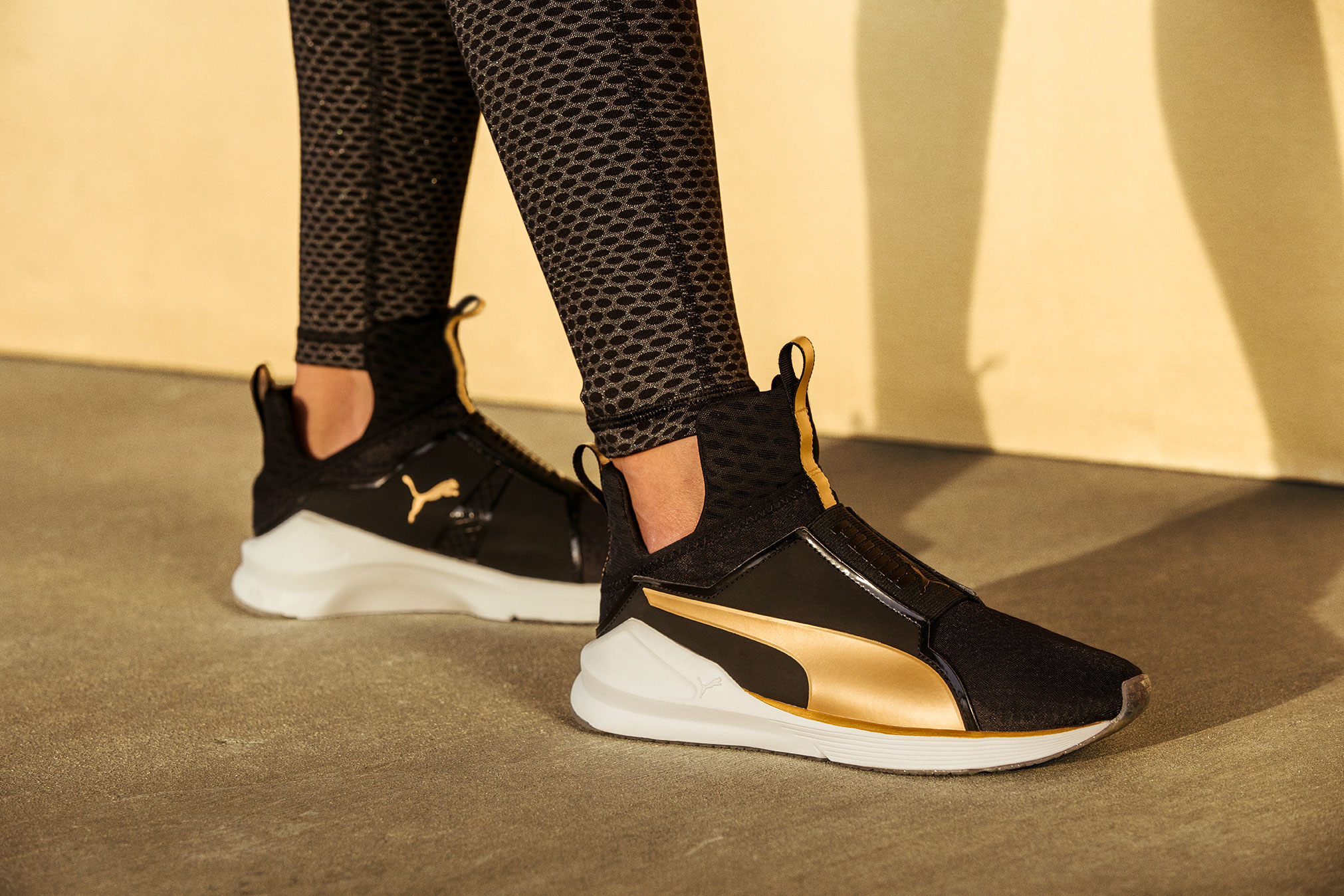 puma fierce gold