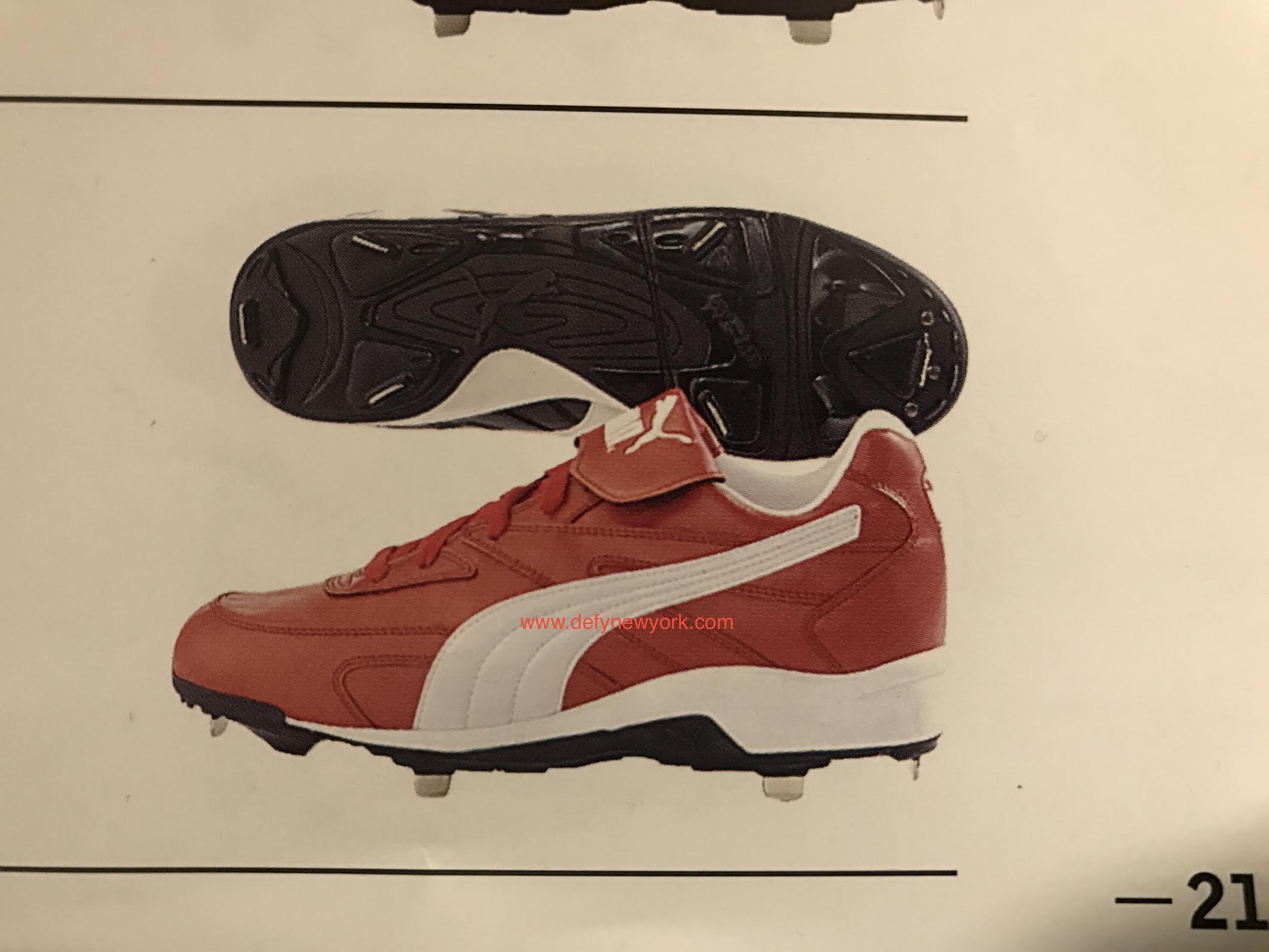 Puma Metal 3a Baseball Cleat 1999 Defy New York