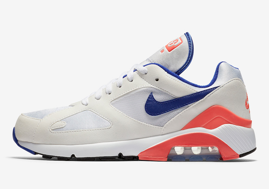 """size 40 f2a76 8c0f7 THE NIKE AIR MAX 180 OG """"ULTRAMARINE"""" IS BACK FOR 2018 BUT H"""