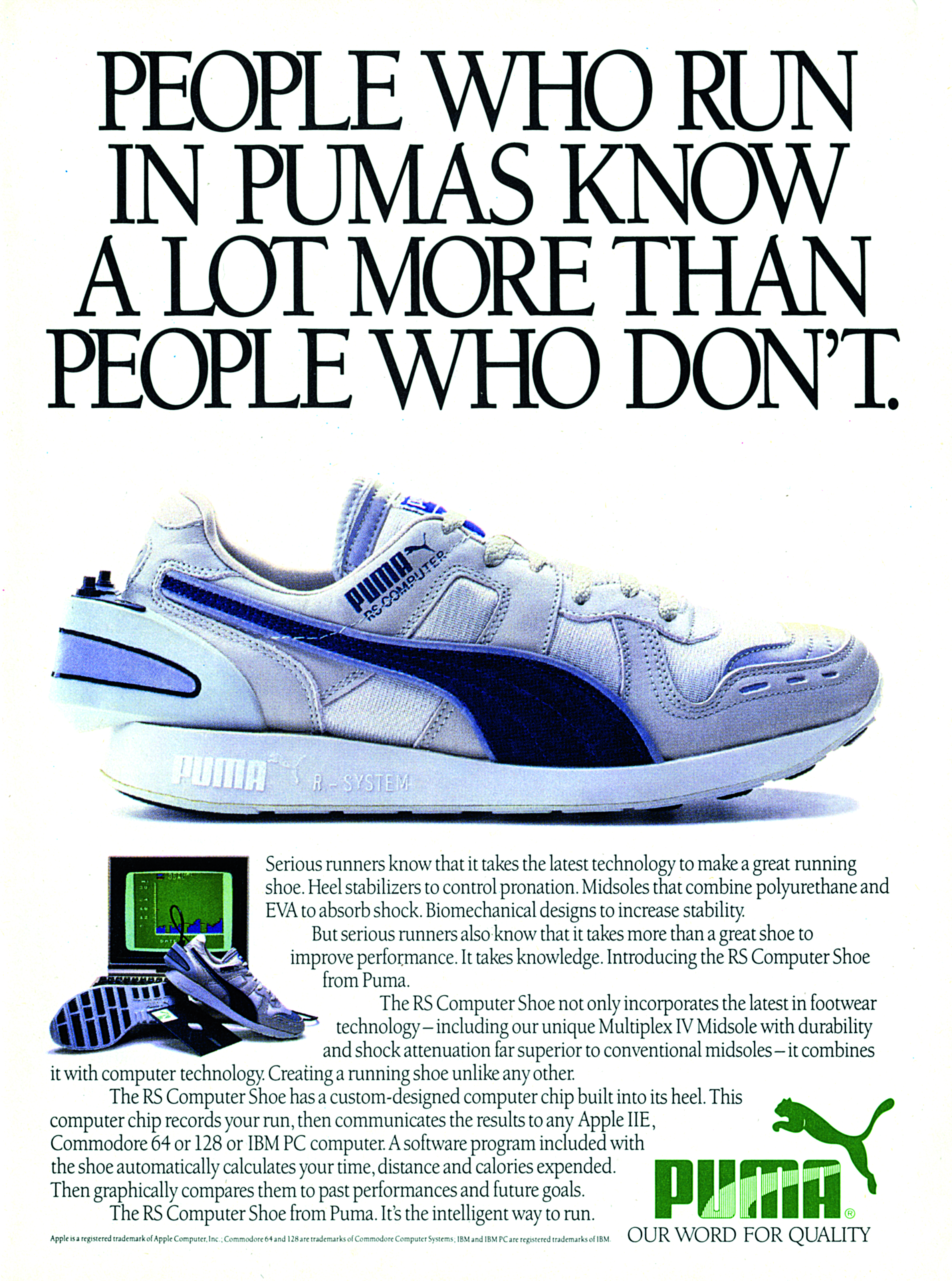 49d9dbe829722b and certainly a revolutionary drop from PUMA. The original RS Computer  could not only count your foot strikes but tell you the amount of time run