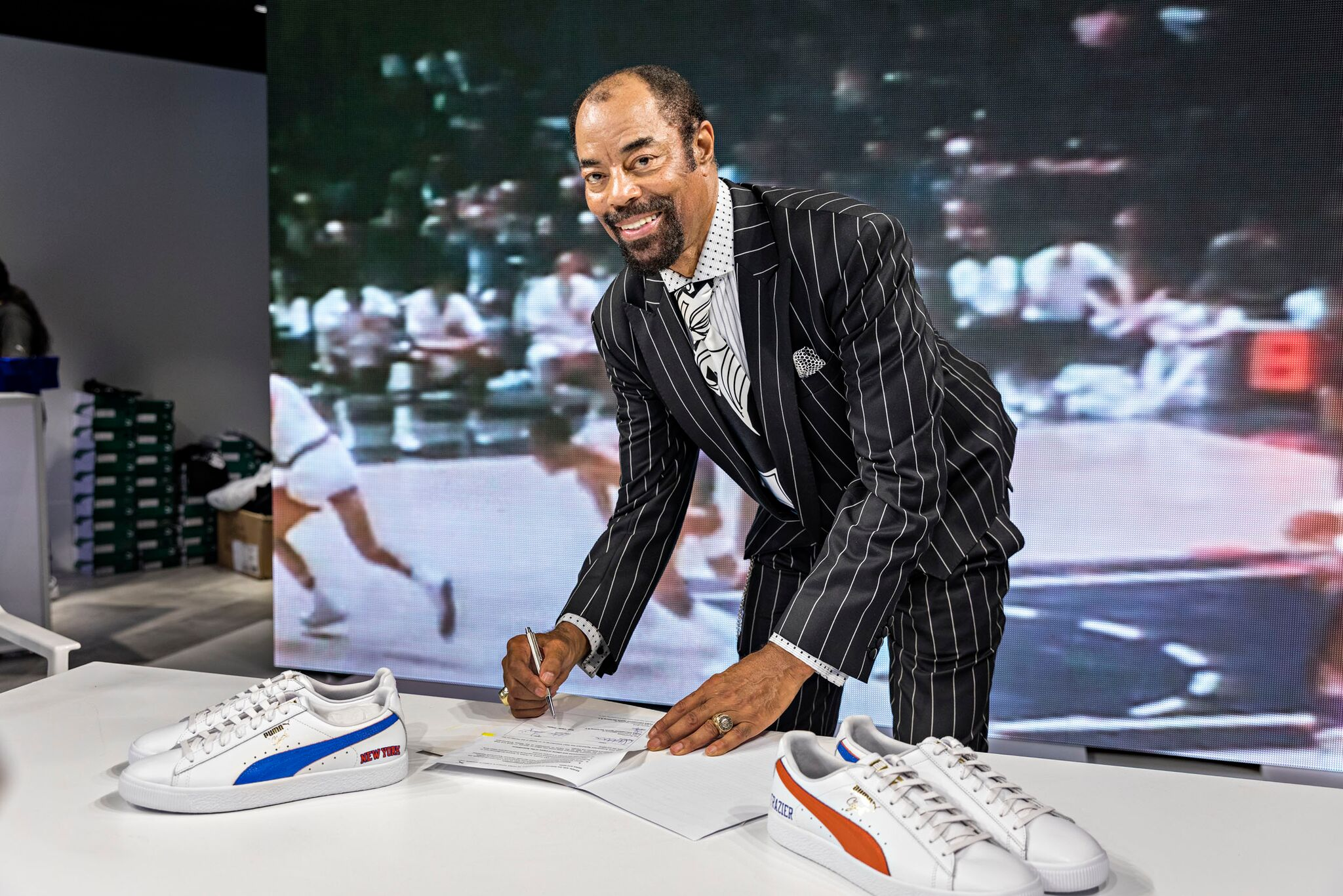 Clyde Frazier Gets A Life Time Contract b1411c076