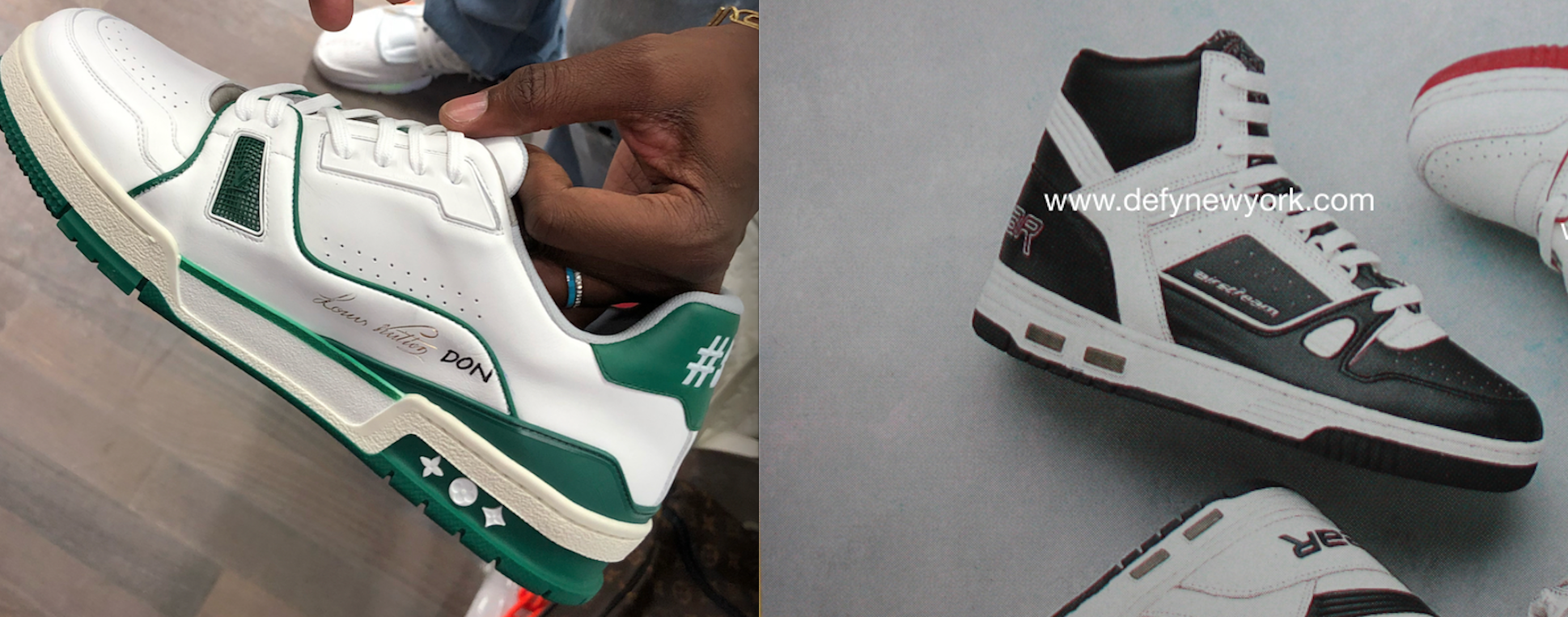 Did Virgil Abloh Just Troll The Sneaker Community Or Did He Create The  Greatest Tribute Shoe Of All Time  Check Out All The Possible Sneaker  Inspirations ... 6bd09ffb903