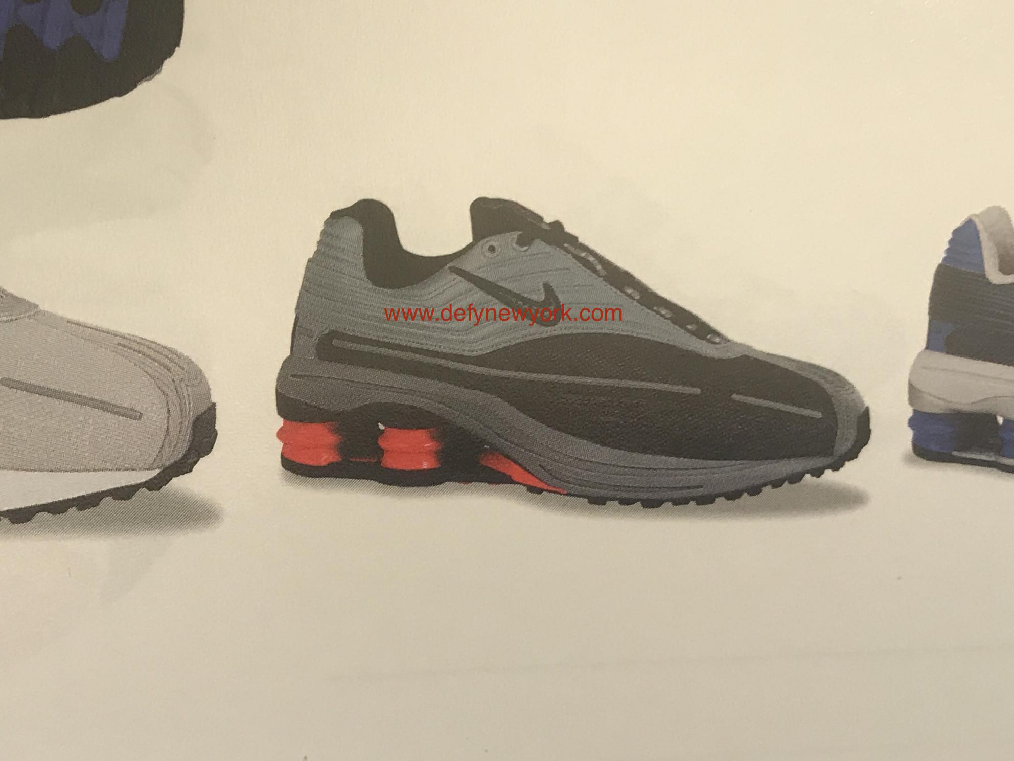 3f27bf0a676 ... Nike Shox pillar tech and pylon midsole with a durable BRS 1000 heel  and Duralon forefoot. Retail was  125 with prices on eBay and the secondary  market ...