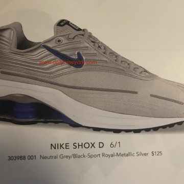 491f9d96a9dfe0 Nike Shox D Running Shoe 2002