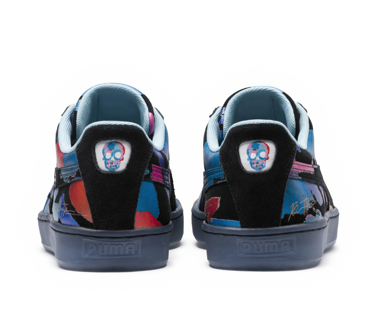 newest collection d322b 26d49 PUMA Teams Up With Artist Bradley Theodore For Special Suede ...