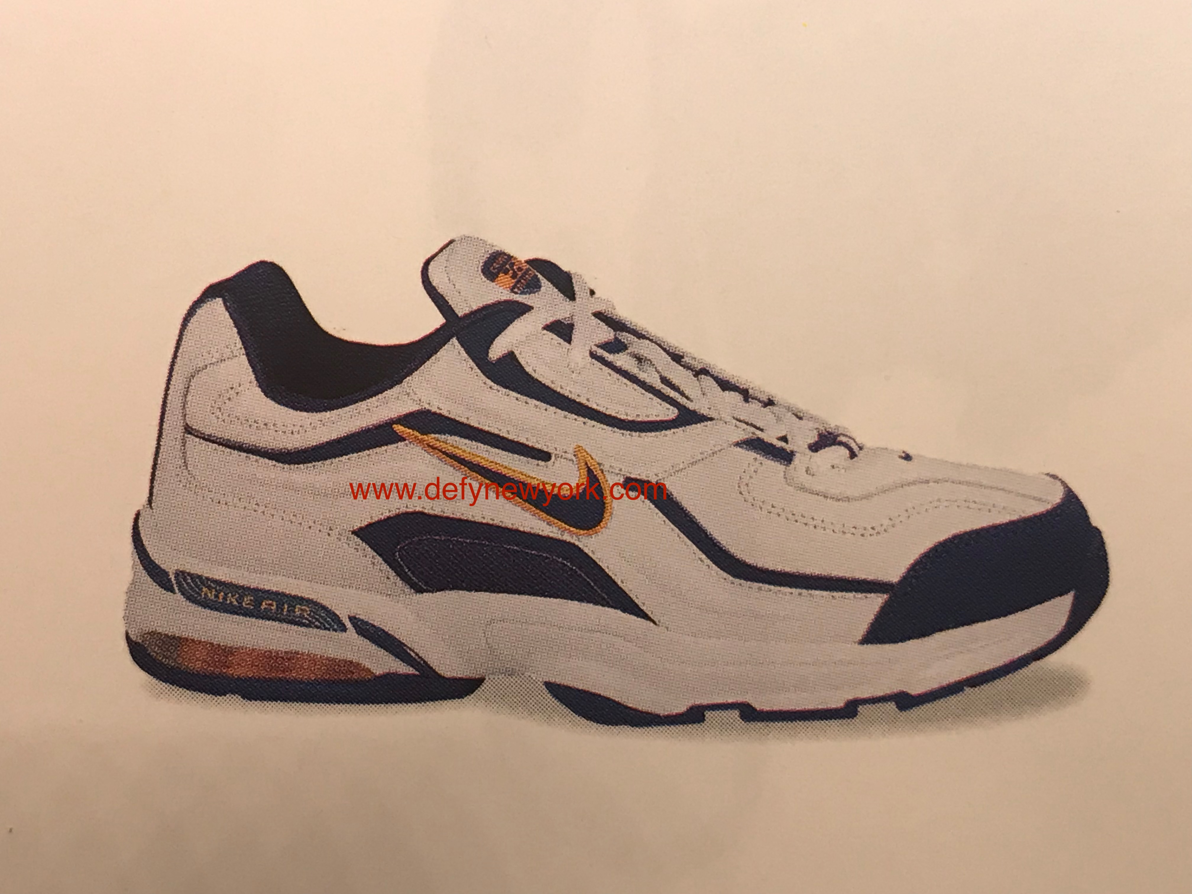 a2425b783860b Nike Air Edge 9000 Cross Training 2003   DeFY. New York-Sneakers ...