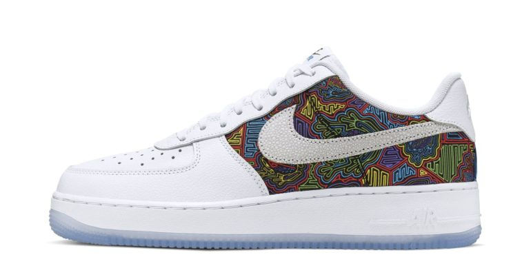 quality design a58df e59d5 Did Nike Use A Panamanian Mola For This Years 2019 Puerto Rican Nike Air  Force 1  Many Do And There s A Petition To Cancel The Release – DeFY.